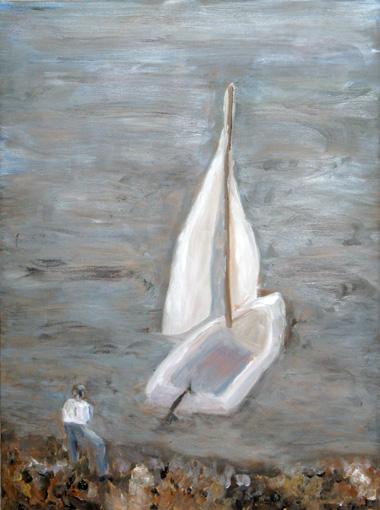 ColumbiaRiverSailboatW